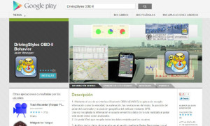 DrivingStyles app, UPV