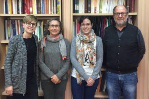 Cristina Real, Ernestina Badal, Carmen M. Martinez i Villaverde