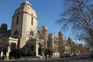 Rectorate building of Valencia University